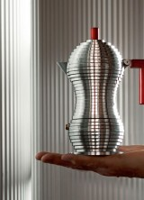 Pulcina Espresso Maker by Michele de Lucchi for Alessi and Illycafe