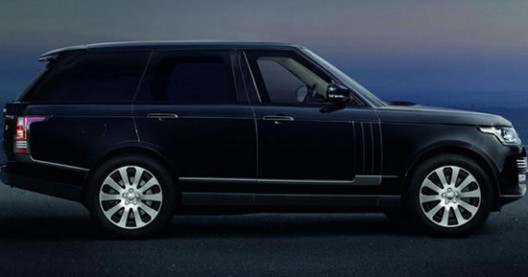 Armored Range Rover Is Called The Sentinel