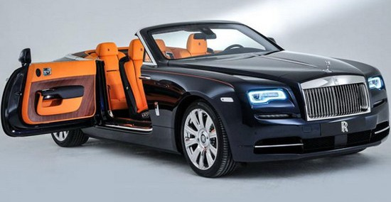 New 2016 Rolls-Royce Dawn Convertible