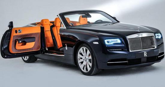 New 2016 Rolls Royce Dawn Convertible