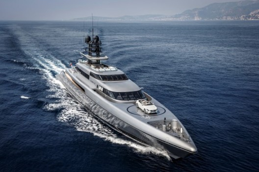 $88 Million Silver Fast - World's Largest And Fastest Aluminum Motor Yacht