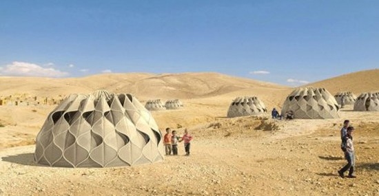 Smart Tents Gets Their Power From The Sun