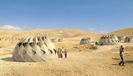 Weaving a Home & Smart Tents Gets Their Power From The Sun - eXtravaganzi