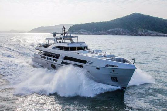 MCP Yachts' Superyacht Mars