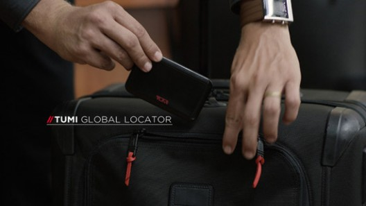 Tumi Global Locator Will Track Your Luggage Around the World