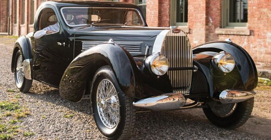 1938 Bugatti Type 57C Atalante At Auction