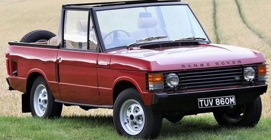 Rare 1973 Range Rover Suffix B Convertible At Auction