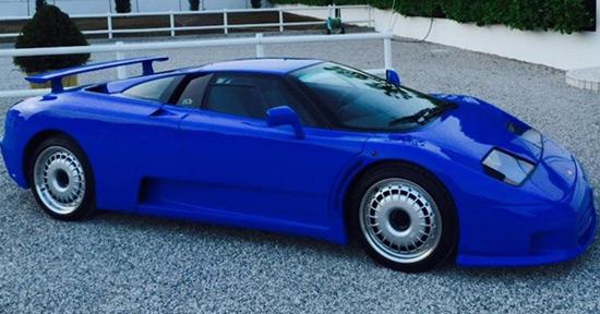 1995 bugatti eb110 on sale for $1.8 million - extravaganzi