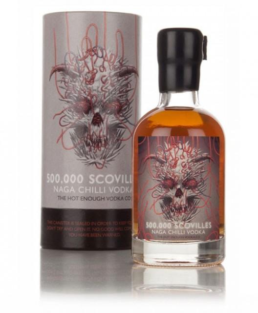 Warning! - Insanely Hot 500,000 Scovilles Naga Chilli Vodka