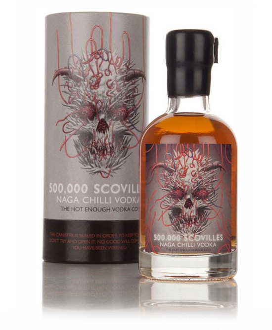 Warning! - Insanely Hot 500,000 Scovilles Naga Chilli Vodka