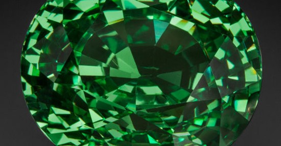 65.72 Carat Tsavorite Garnet the Size of Quail's Egg Could Fetch $1 Million at Heritage Auctions
