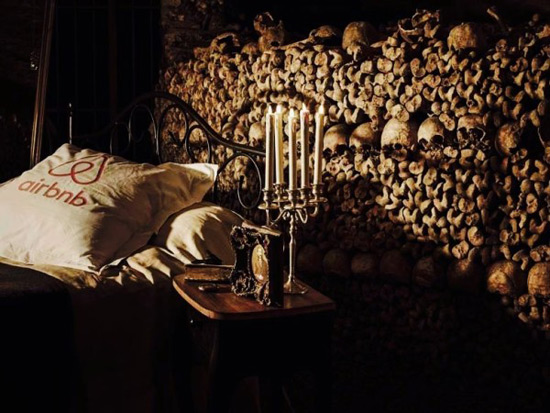 Spend the Night with Six Million Corpses! - Halloween Night in Paris Catacombs