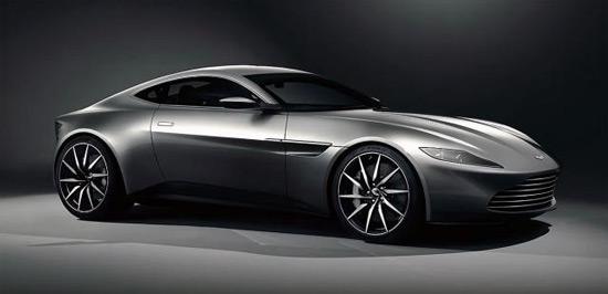 """Peek Inside Aston Martin DB10 From """"Spectre"""""""