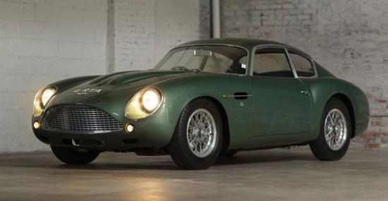 Aston Martin DB4 Zagato At Sotheby's RM Auction