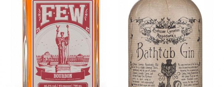 FEW Bourbon & Professor Cornelius Ampleforth Bathtub Gin – Old Tom Now Available At Marks & Spencer