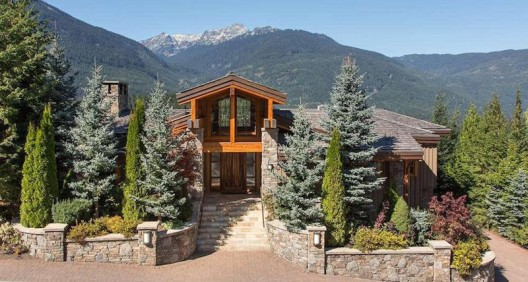 Stunning Post And Beam Whistler, B.C. Mountain Home Lists For $6.499-Million