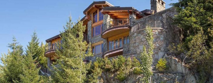 Whistler, B.C. Mountain Home On Sale For $6.499 Million