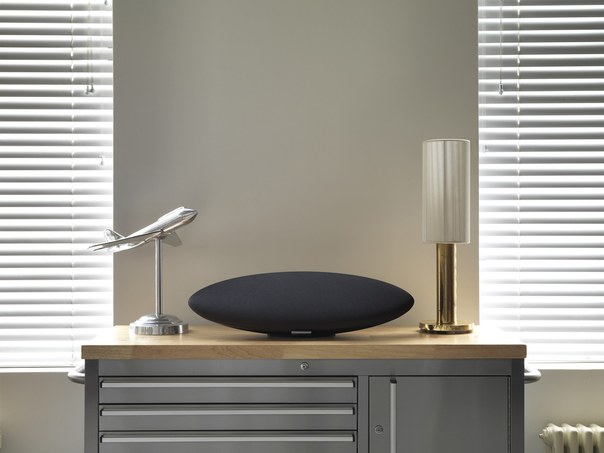 bowers wilkins launches zeppelin wireless speaker