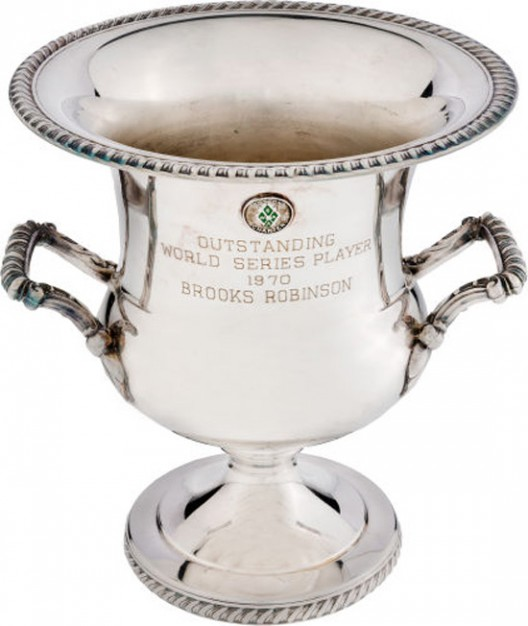 Brooks Robinson's Awards and Memorabilia At Auction