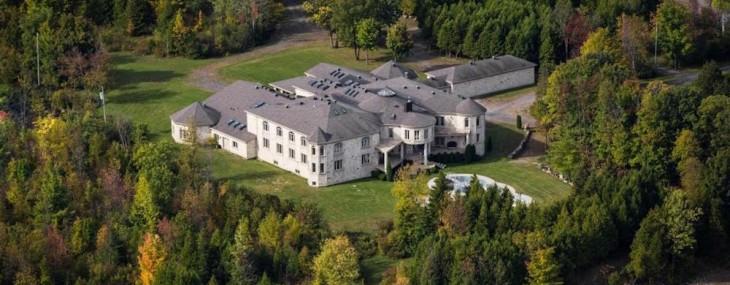 Canada's Strangest 35,000 Sq. Ft. Residence Listed For $11.9 Million
