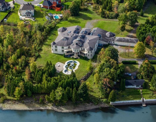 Canada's Strangest 35,000 Sq. Ft. Residence Listed For $11.9 Million