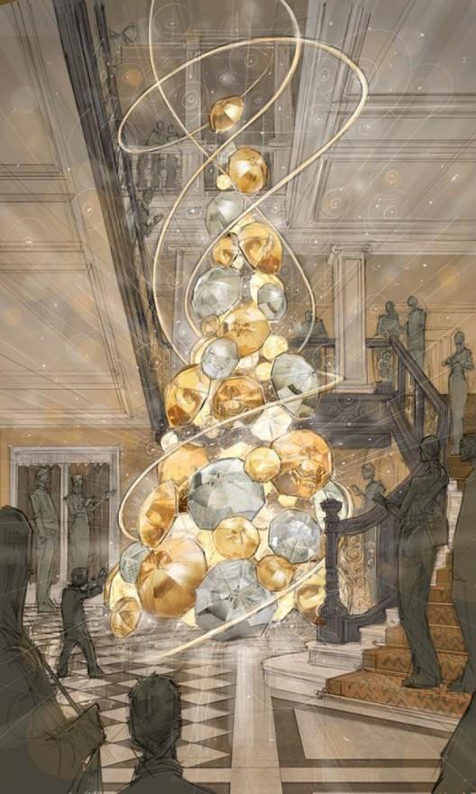 Claridge's 2015 Christmas Tree