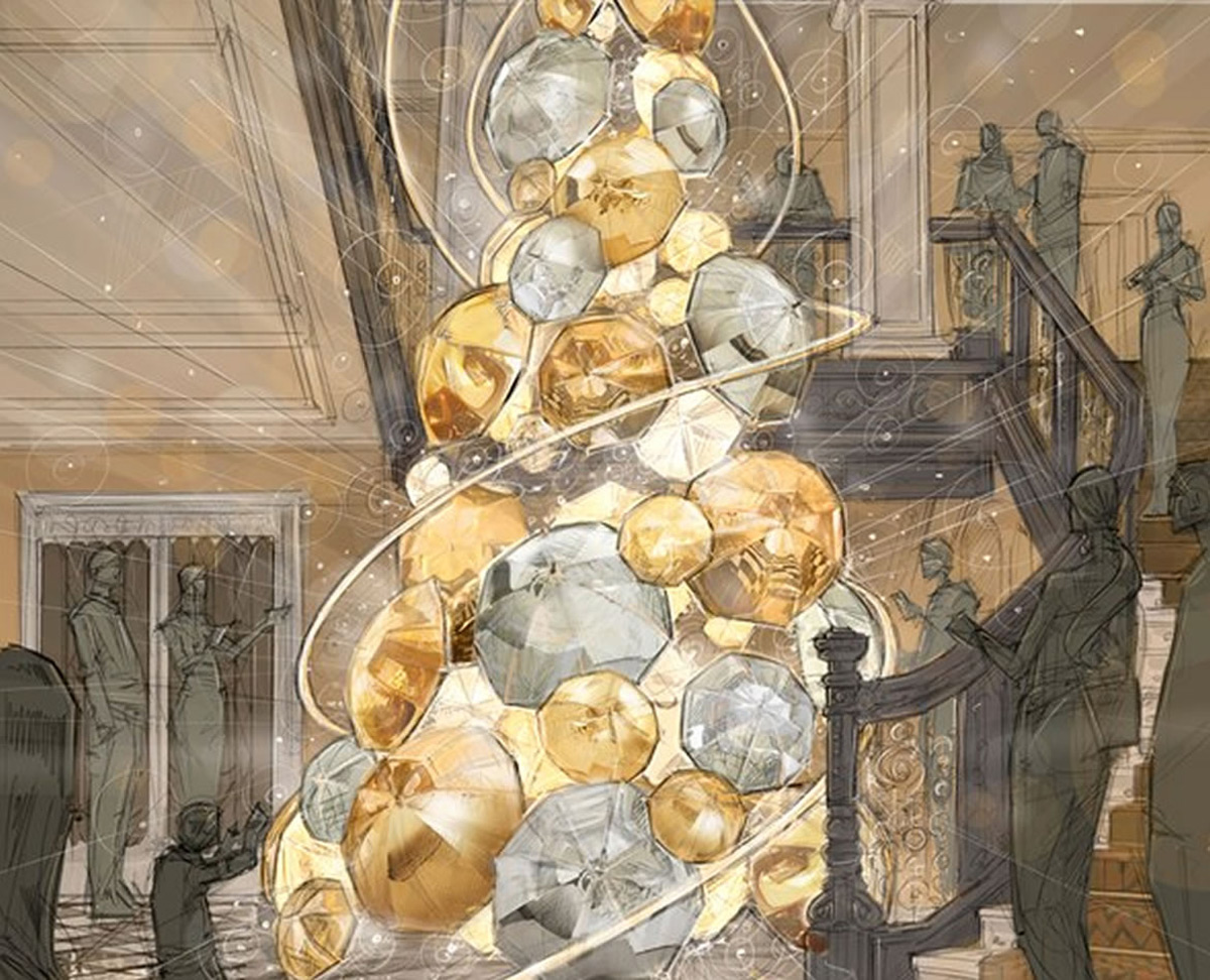 Claridge's 2015 Christmas Tree