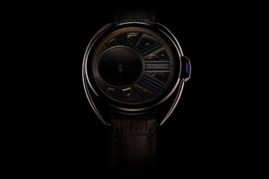 Clé de Cartier Mysterious Hour Watch