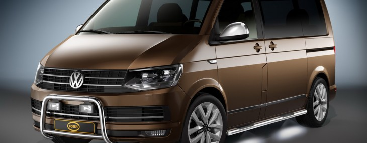 Exclusive Cobra Technology & Lifestyle Accessories Range for New VW T6 Microbus