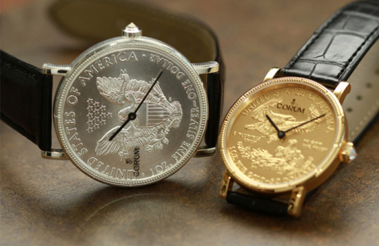 50th Anniversary Of Corum Coin Watch