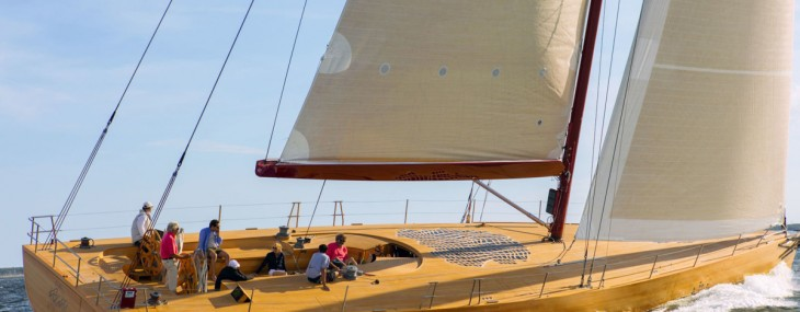Foggy – Frank Gehry's First Racing Sailing Yacht