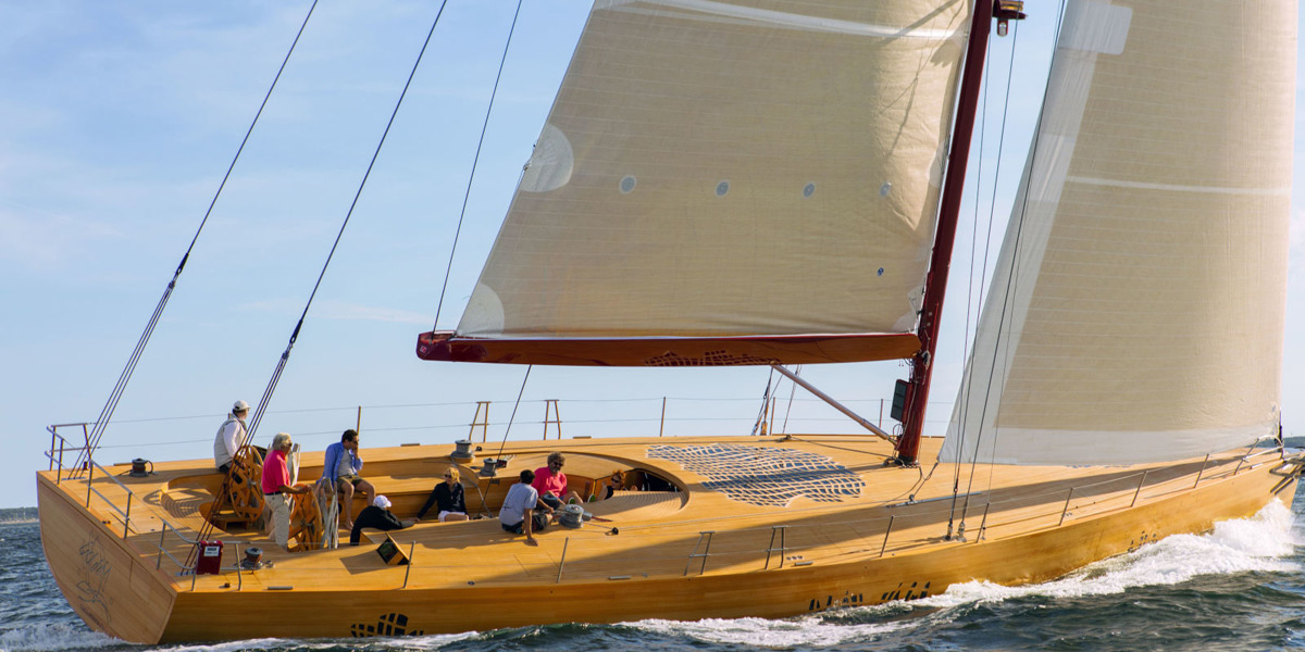 Foggy - Frank Gehry's First Racing Sailing Yacht