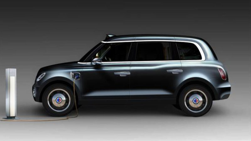 New Electric TX5 London Taxi