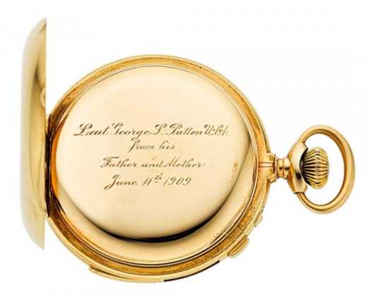 Gen. George S. Patton's Pocket Watch at Heritage Auction