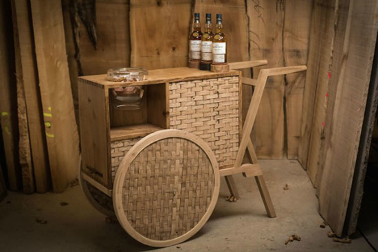 Glenlivet Nàdurra Drinks Trolley