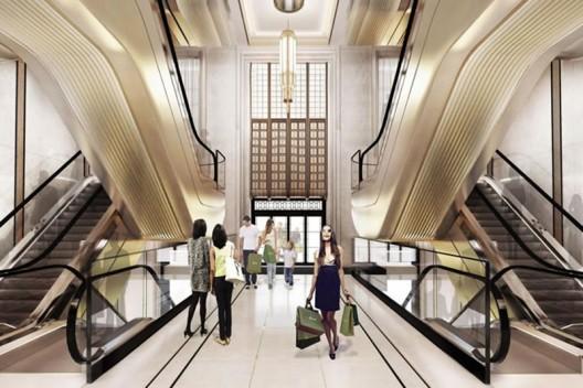 Harrods Entrance Hall Ready For £20 Million Renovation