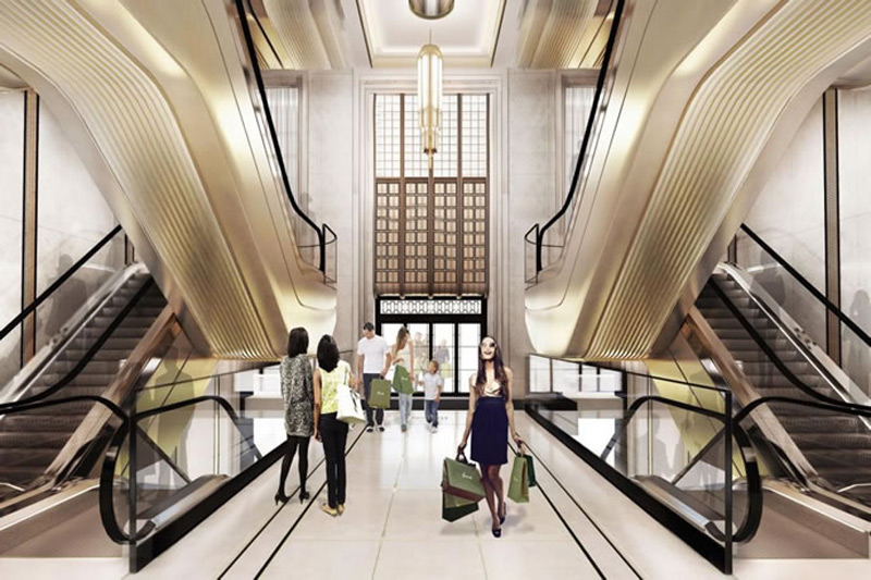 Harrods Entrance Hall Ready For £20 Million Renovation