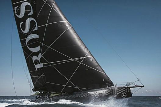 IMOCA Hugo Boss Yacht