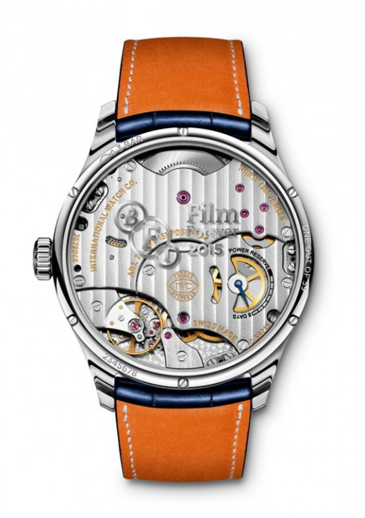 IWC Launches Limited Edition Timepiece to Celebrate BFI Partnership