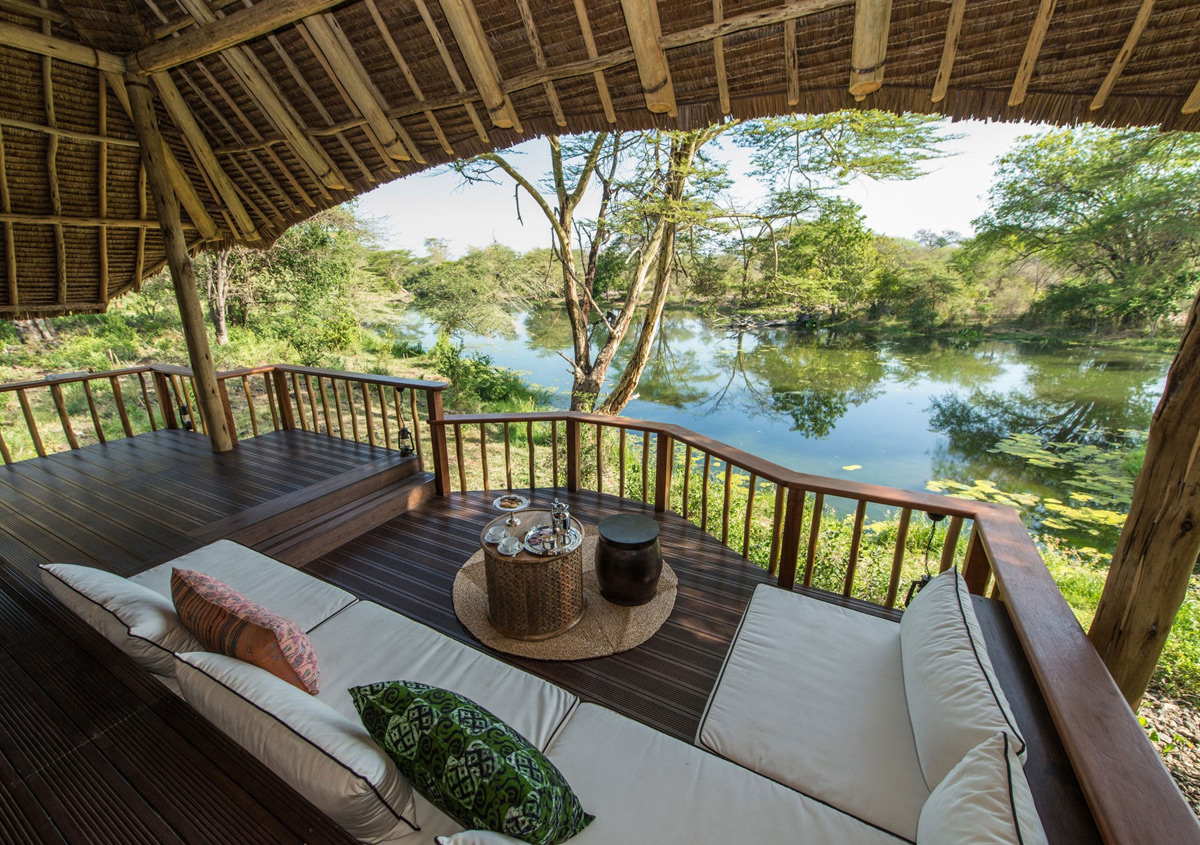 Luxury Park finch hattons luxury c at the of tsavo national park in