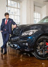 New Autumn Package For Infiniti QX80 by LARTE Design