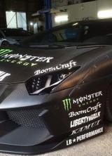 Liberty Walk Monster Energy Lamborghini Aventador