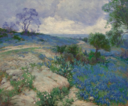 'Lost' Bluebonnet Painting Expected to Fetch $150,000 At Auction