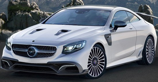 Mansory Mercedes S63 AMG Coupe With 1000 HP