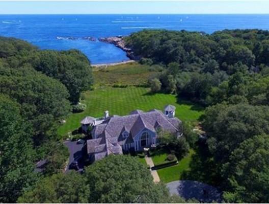 Oceanfront New England Estate