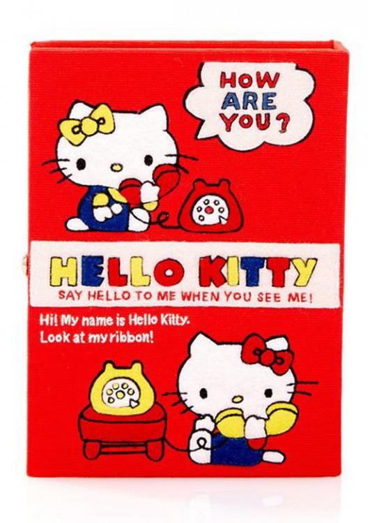 $2,475 Olympia Le-Tan Hello Kitty Lunchbox Clutch