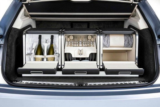 Linley Picnic Hamper by Mulliner For Bentley Bentayga