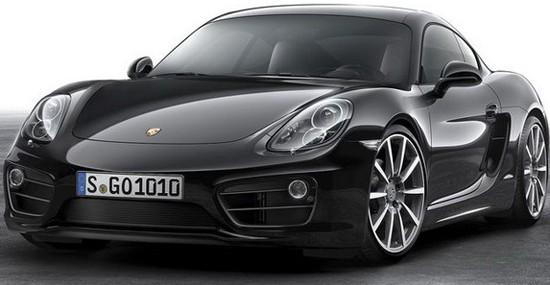 Special Porsche Cayman Black Edition