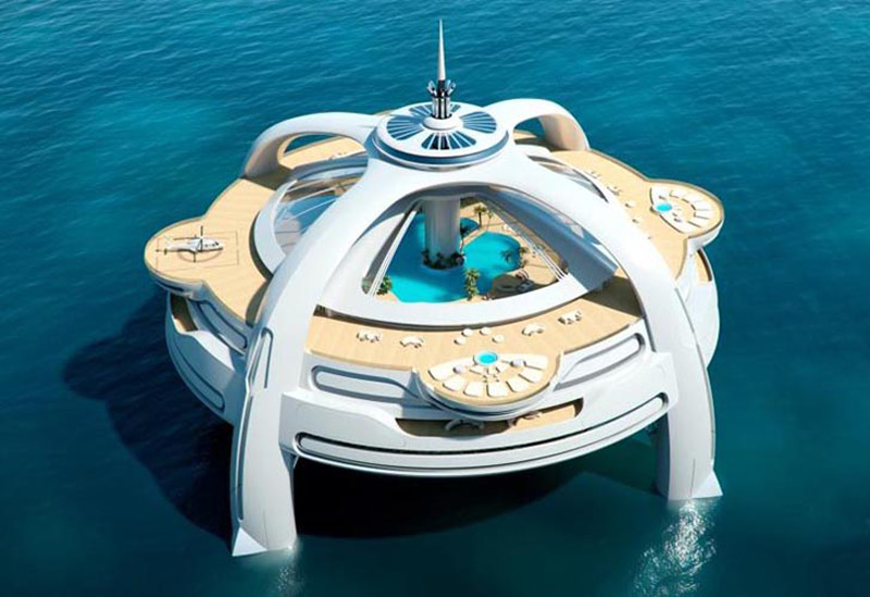 Project Utopia - Floating Island Paradise At Sea