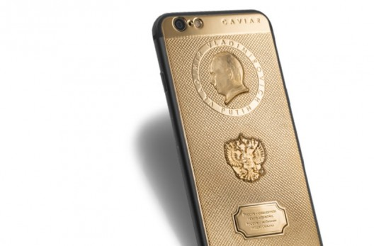 Putin iPhone 6S By Caviar
